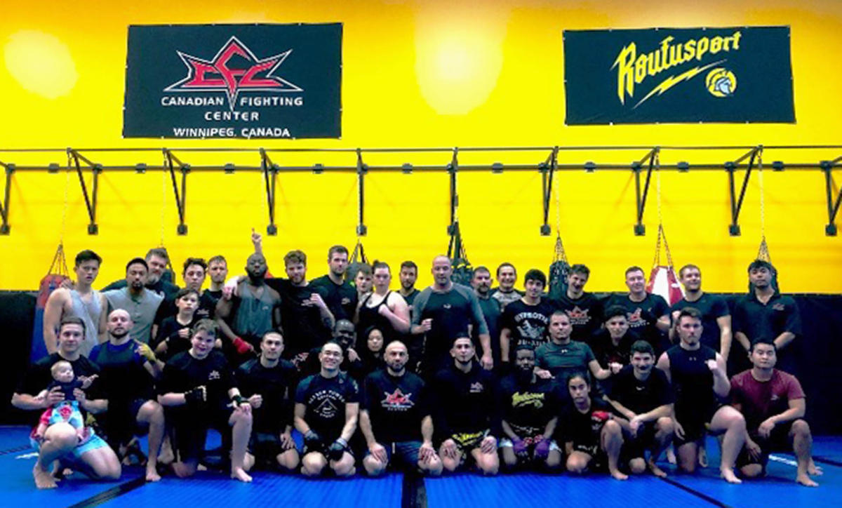 Canadian Fighting Center Winnipeg KickBoxing Muay Thai